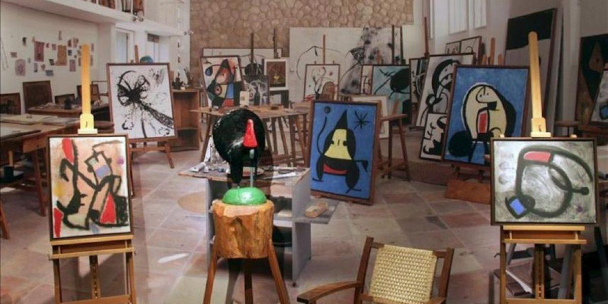 La mayor exposición retrospectiva de Miró debuta en Moscú
