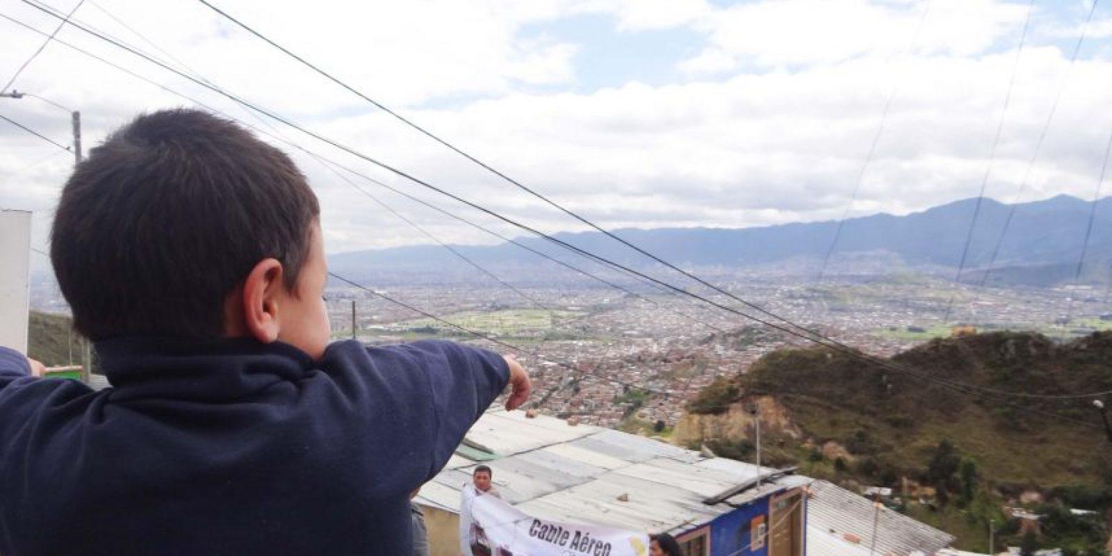 Los habitantes de Ciudad Bolívar están expectantes a que se dé la construcción del cable aéreo de ese sector. Según ellos, con el proyecto se activaría el turismo y mejoraría la calidad de vida. Foto:Diego Hernán Pérez /PUBLIMETRO
