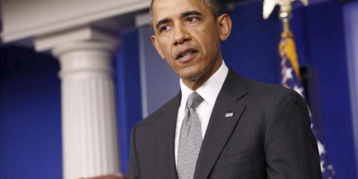 Obama promete una investigación a fondo sobre el uso de armas químicas en Siria