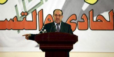 El primer ministro de Irak, Nuri al-Maliki. EFE/Archivo