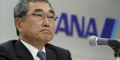 El presidente de la compañía aérea japonesa, ANA, Shinichiro Ito. EFE