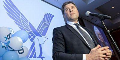 El líder del conservador Partido de la Independencia, Bjarni Benediktsson en Reykjavik, Islandia. EFE
