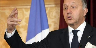 El ministro de Exteriores francés, Laurent Fabius. EFE/Archivo