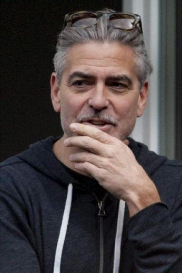 """El actor y director estadounidense George Clooney asiste al rodaje de su película """"The Monuments Men"""", en Goslar (Alemania). EFE"""