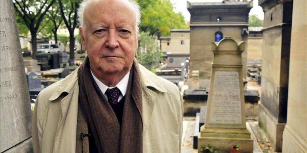 Jorge Edwards colecciona sus huellas literarias en París