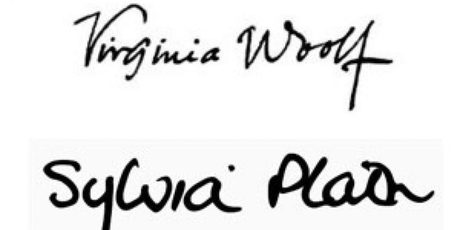 Virginia Woolf y Sylvia Plath