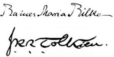Rainer Maria Rilke y J.R.R. Tolkien