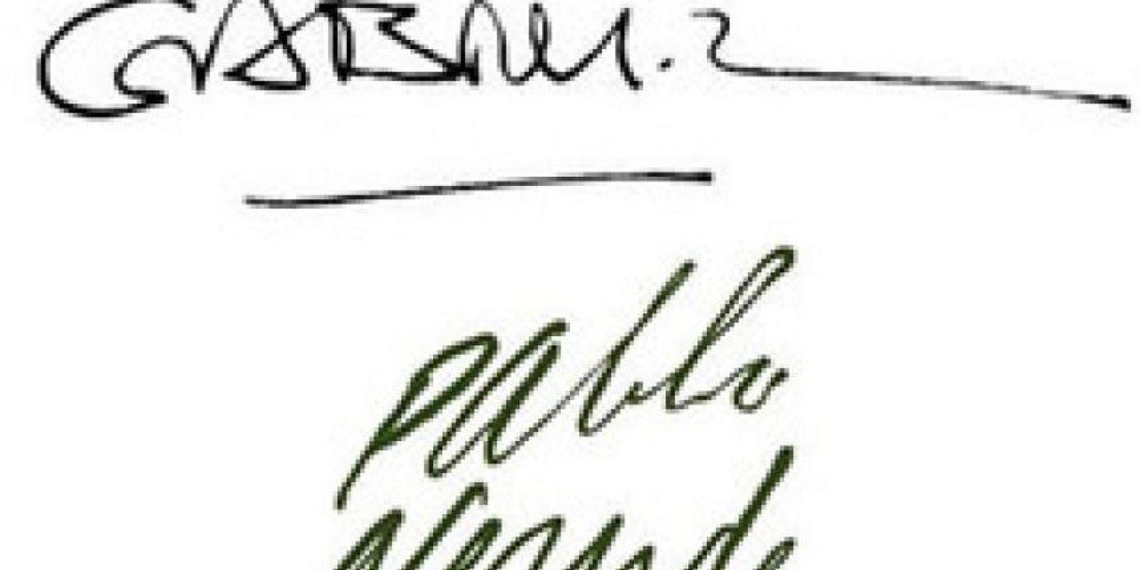 Gabriel García Marquez y Pablo Neruda