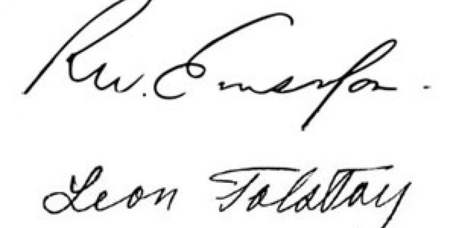 Ralph Waldo Emerson y Leon Tolstoy