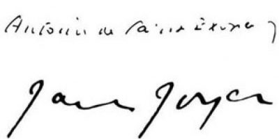 Antoine de Saint-Exupéry y James Joyce