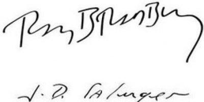 Ray Bradbury y J.D. Salinger
