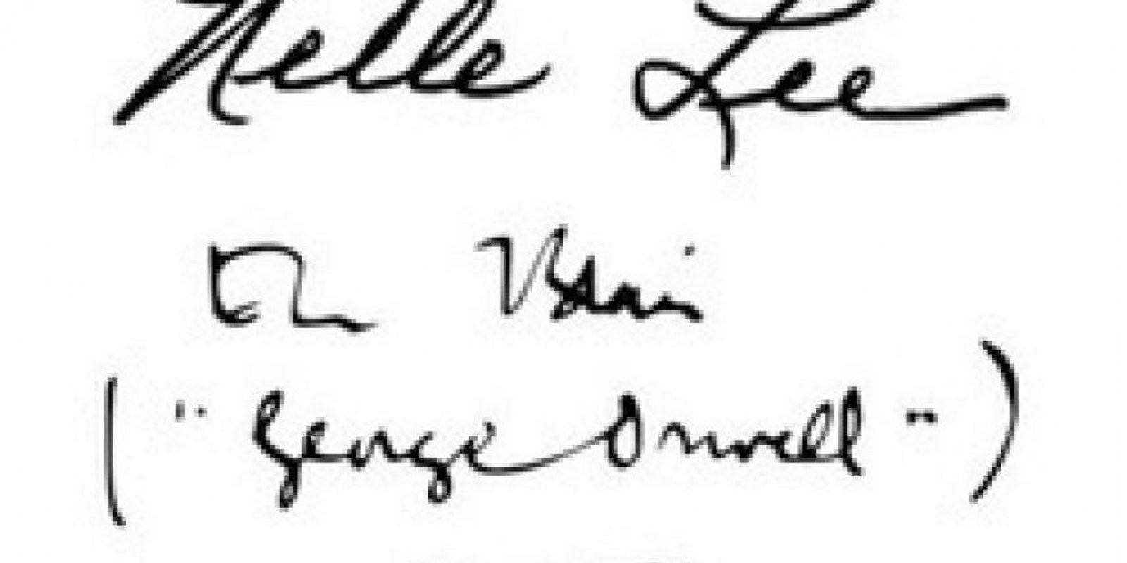 Harper Lee y George Orwell