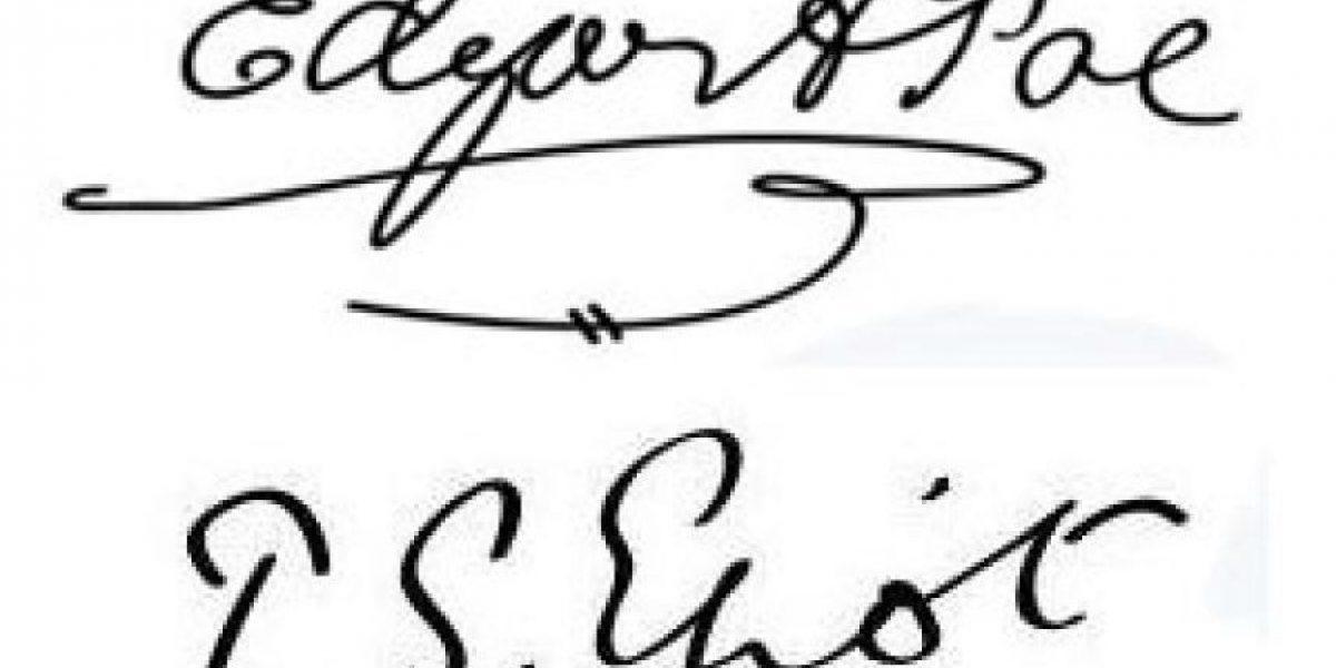 FOTOS: Firmas de escritores reconocidos