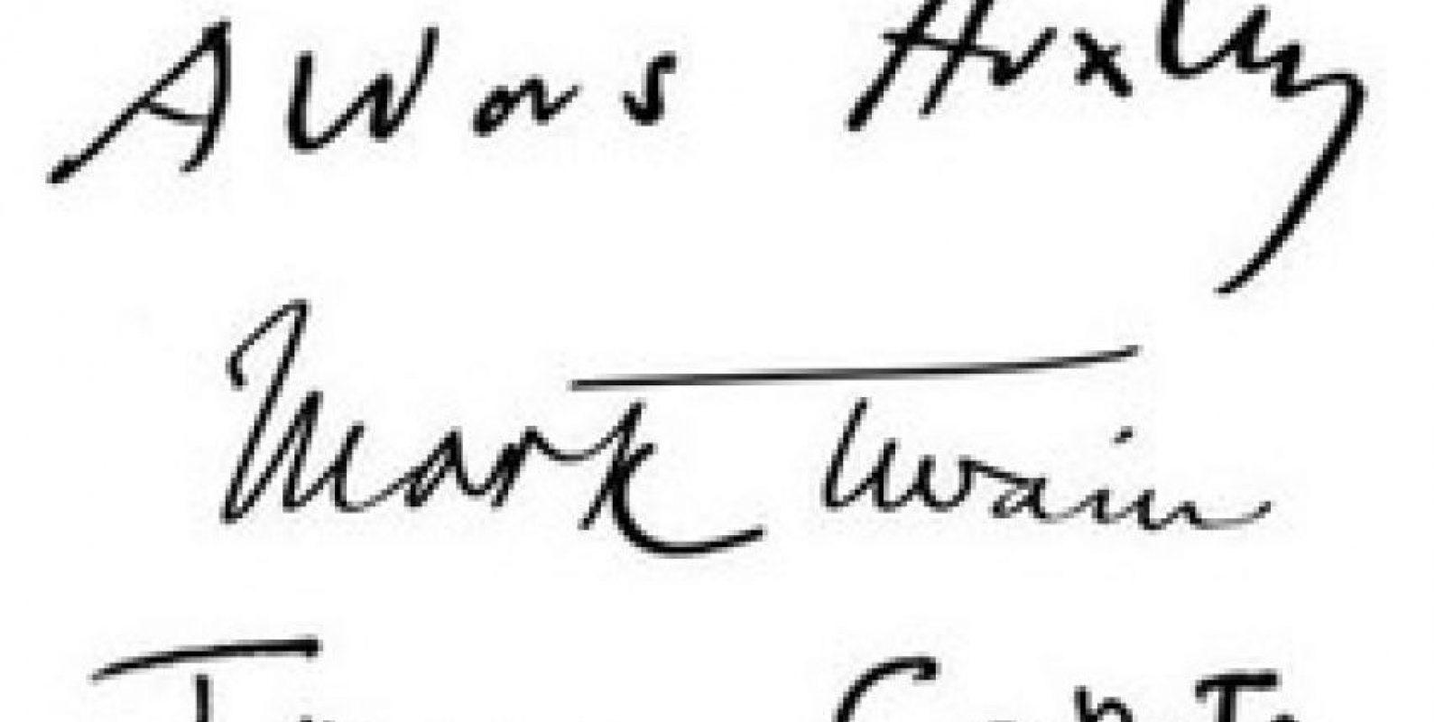 Aldous Huxley, Mark Twain y Truman Capote