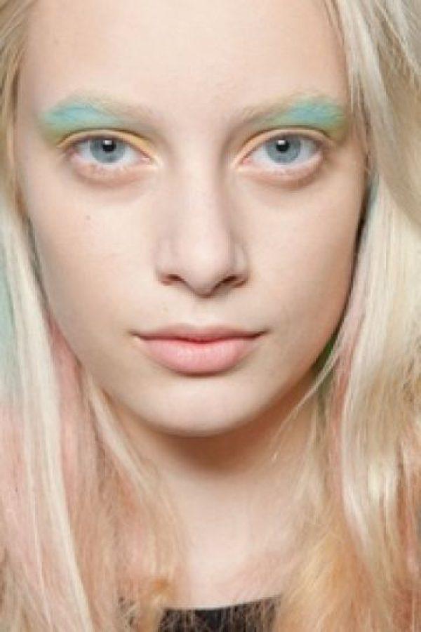 Si quiere dar un aspecto etéreo, y lo suficientemente inspirado, atrévase a usar así los tonos pasteles. Foto:Pinterest