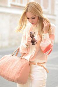 Todo se vale: También se puede vestirse y usar tanto maquillaje como ropa de un solo tono. Foto:Pinterest