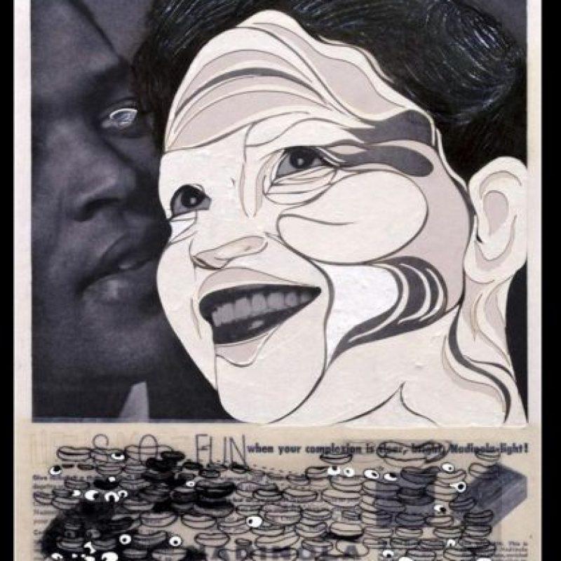 """Fotografía facilitada por la Tate Modern de la obra """"So Fun from Deluxe"""" (2004), de la polifacética artista estadounidense Ellen Gallagher. EFE"""