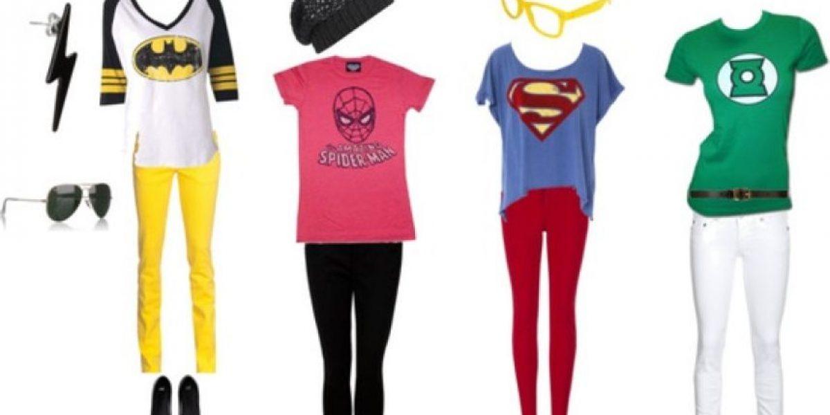 Looks inspirados en superhéroes
