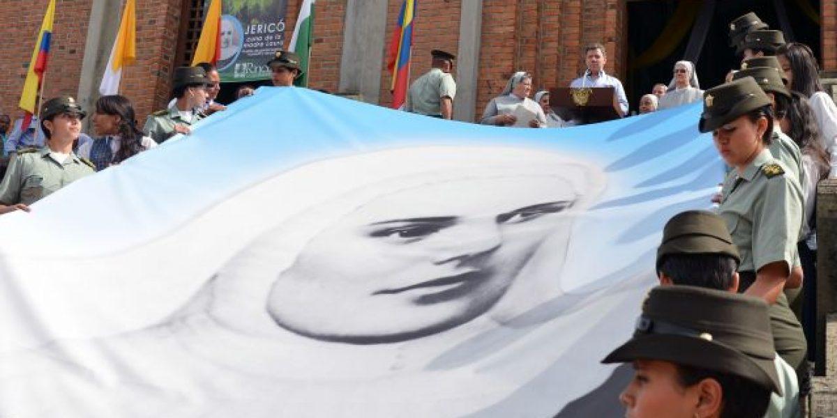 Jericó ya tiene la imagen vaticana de la madre Laura