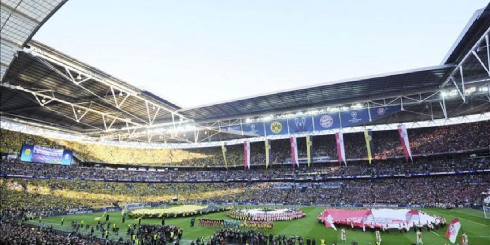 Imagen general de Wembley antes de la final de la Liga de Campeones. . EFE