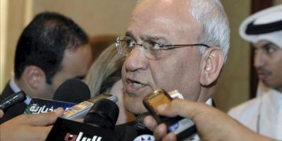 El jefe negociador palestino, Saeb Erekat. EFE/Archivo