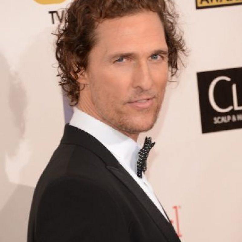 Matthew McConaughey dijo a Playboy que tenía 15 años, pero permaneció en silencio más allá de eso. Foto:Getty Images Foto:GettyImages