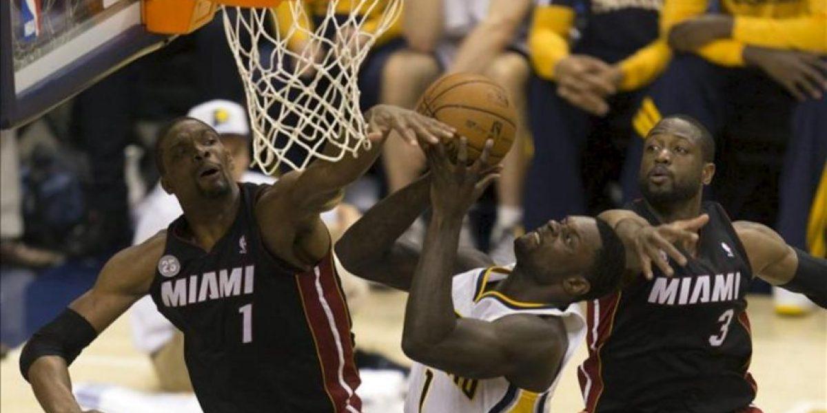 99-92. Hibbert vuelve a ser verdugo de los Heat y Pacers empatan la serie