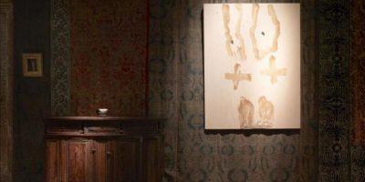"""Fotografía facilitada por la Fundación Vervoordt de varias de las obras de Antoni Tàpies, que forman parte de la exposición """"Tàpies. Lo sguardo dell' artista"""" (Tàpies. La mirada del artista), organizada por dicha fundación junto con la del Musei Civici di Venezia. EFE"""