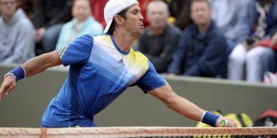 El tenista español Fernando Verdasco durante su partido de segunda ronda de Roland Garros. EFE