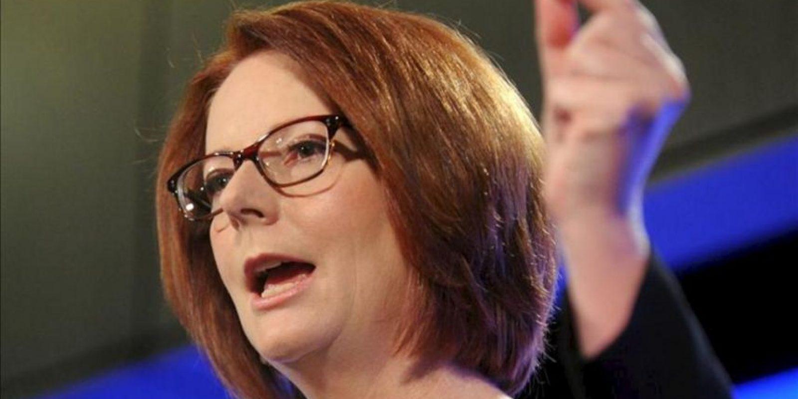 La primera ministra australiana, Julia Gillard. EFE/Archivo