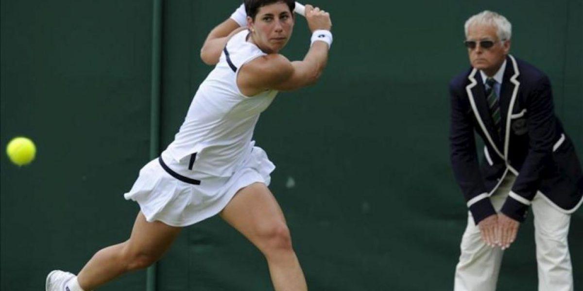 Carla Suárez, primera española que llega a octavos en Wimbledon desde 2001