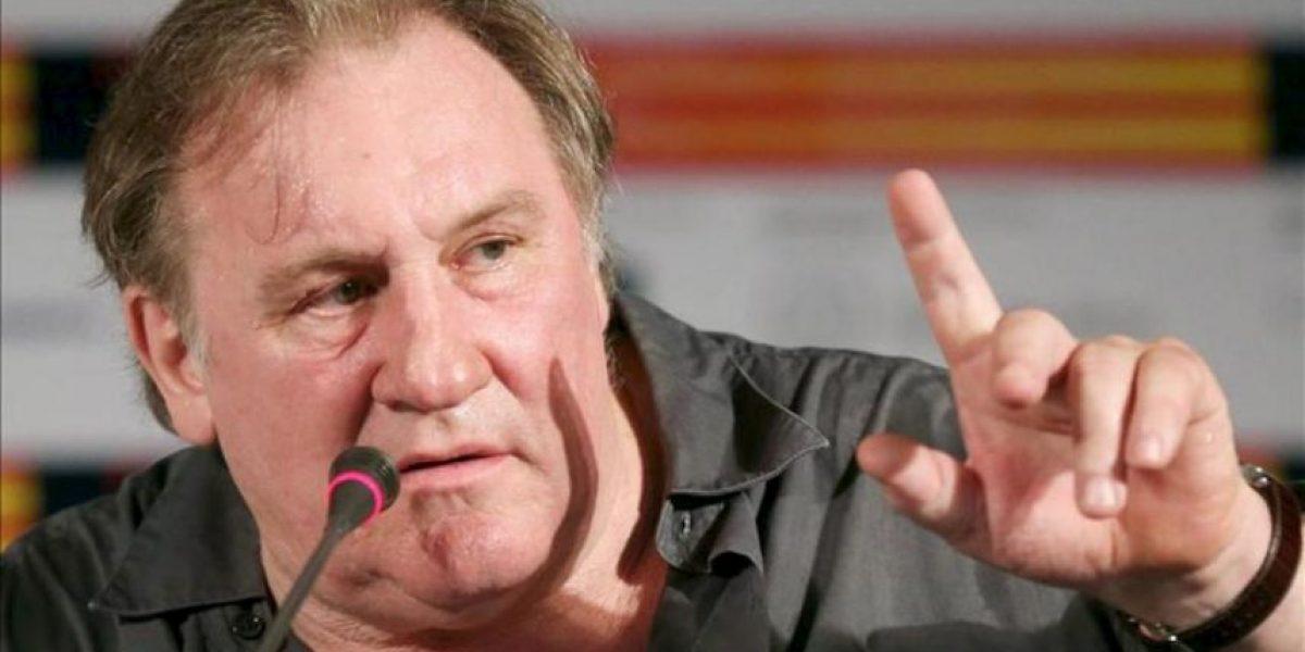 Depardieu dice que los franceses le han
