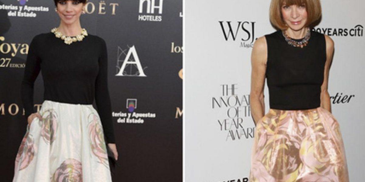 Fotos: Famosas que usan el mismo vestido