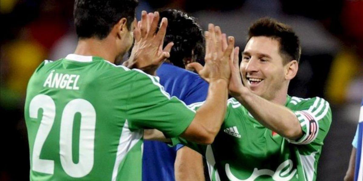 Messi jugó