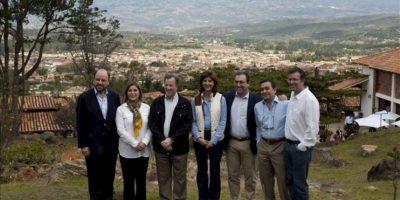 Los ministros de Relaciones Exteriores y de Comercio de la Alianza del Pacífico posan para una fotografía el 30 de junio de 2013, en Villa de Leyva (Colombia). EFE