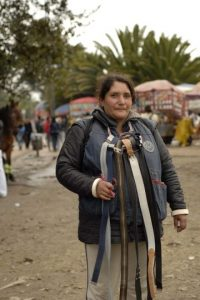 Mireya Escobar, guardadora de elementos. Cobra 2 mil pesos por objeto. Foto: Pilar Mejía /PUBLIMETRO