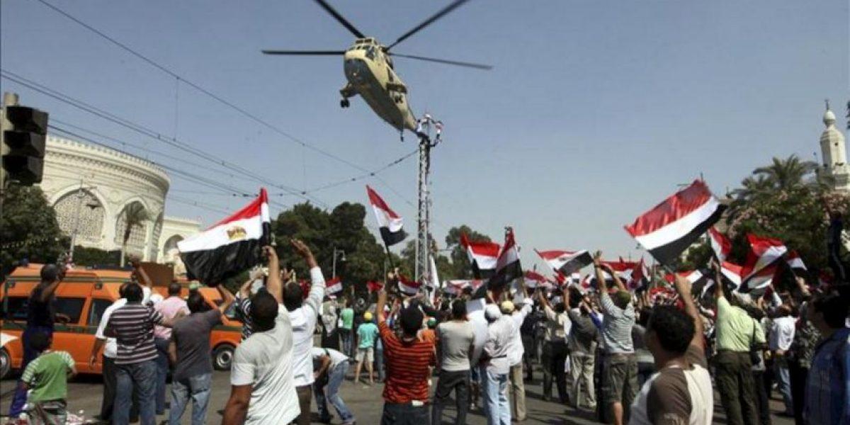 La Justicia egipcia ordena detener a Mursi en jornada de protestas con 5 muertos