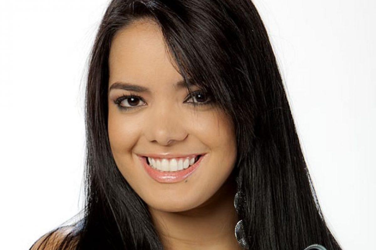 Elianis Garrido: A pesar de ser una de las preferidas en las pruebas de talento, Elianis creo polémica; agredió físicamente a Óscar Naranjo, por esta razón fue eliminada del concurso. Foto: RCN Oficial