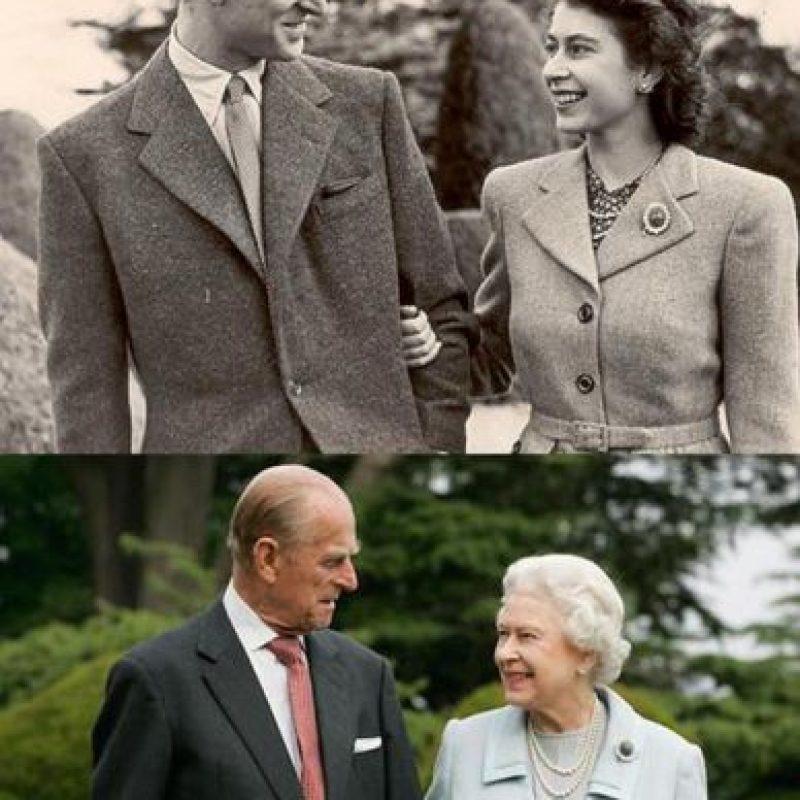 66 años de matrimonio de la Reina Isabel II. Foto:clarebella.tumblr.com