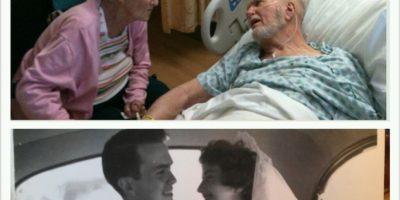 60 años estando al lado del otro. Foto:huffingtonpost.com