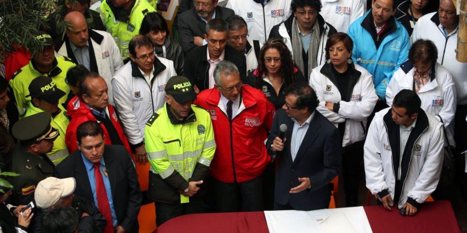 Todo el gabinete de Gobierno Distrital despachará desde el colegio Gimnasio Real de Colombia, en Ciudad Bolívar, durante una semana. Foto: Ignacio Prieto /Alcaldía Mayor