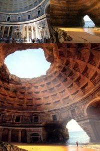 El templo en ruinas Foto:Buzzfeed.com