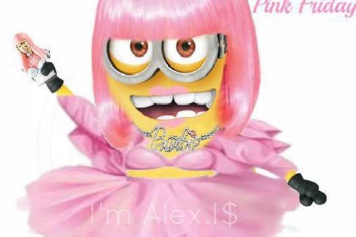 Nicki Minaj Foto:Facebook