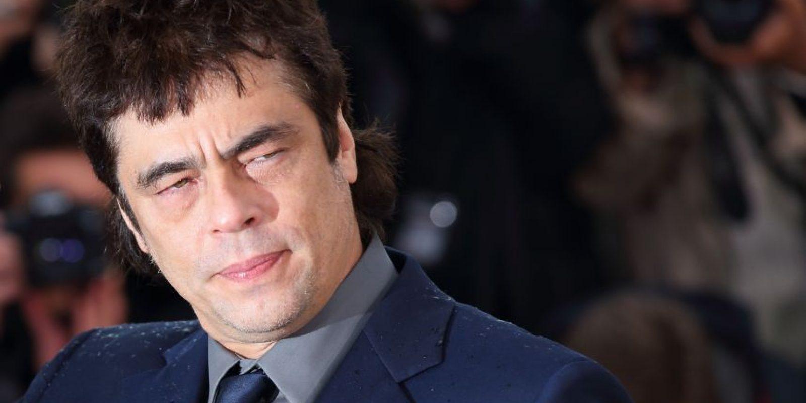 Benicio del Toro es uno de los mayores talentos de Hollywood, y tuvo affaires con Scarlett Johansson y Kimberly Stewart. Foto: GettyImages