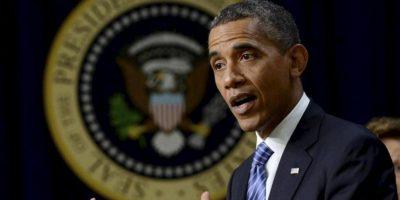 En la imagen un registro del presidente de EE.UU., Barack Obama, quien propone rebajar los impuestos a las empresas y corporaciones del 35 % actual al 28 % y a un 25 % en el caso de las manufacturas. EFE/Archivo