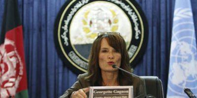 La directora de Derechos Humanos de la ONU para Afganistán, Georgette Gagnon. EFE