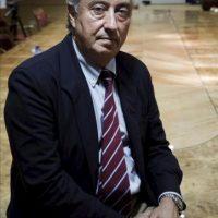 El presidente de Renfe, Julio Gómez-Pomar, durante la entrevista hoy con la Agencia Efe. EFE