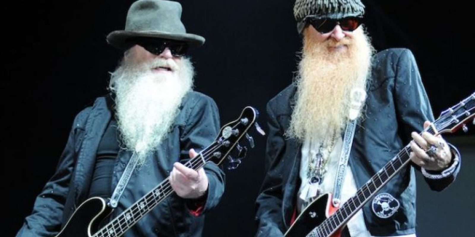 La banda ZZ Top en sus inicios se llamaba The Moving Sidewalks Foto: Getty Images