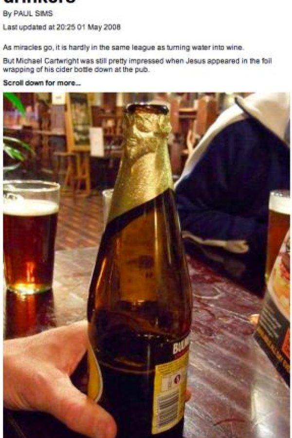 En una cerveza Foto:BuzzFeed.com