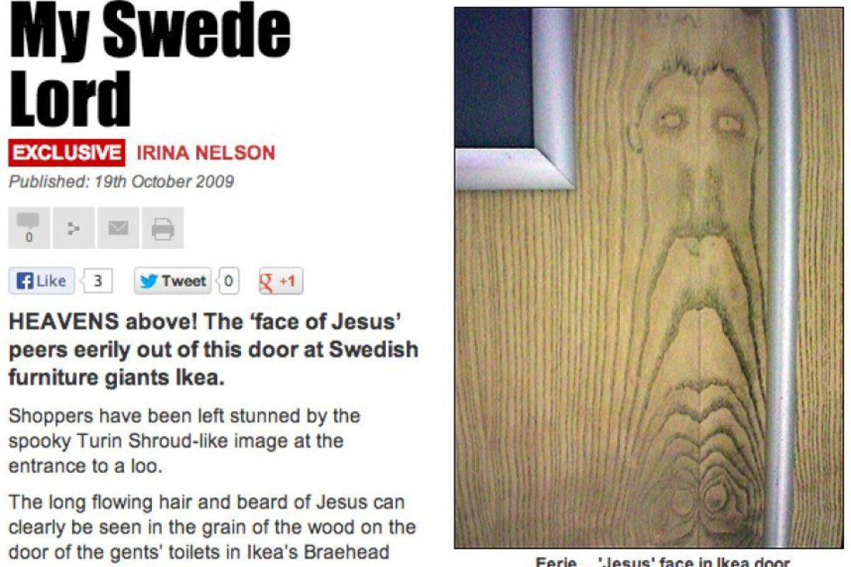 En una puerta de Ikea Foto:BuzzFeed.com